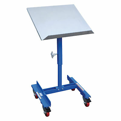 Vestil Mobile Tilting Work Table - 150lb Cap, 21inL x 22inW, #WT-2221