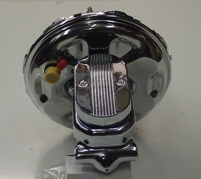 """Camaro And  Chevelle Gto  11"""" Chrome Brake Booster And Master Cylinder New"""