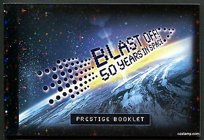 2007 Blast Off! 50 Years in Space Prestige Booklet Stamps Mint Australia