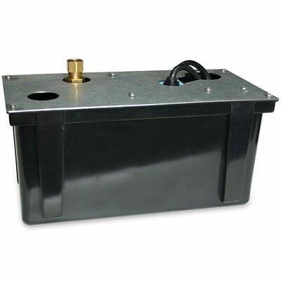 Little Giant 3-ABS - 5.1 GPM Condensate Pump w/ Integrated Float Switch (26' ...