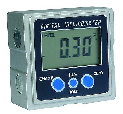 MEBA Digital Electronic Magnetic Angle Gage Level / Protractor / Bevel Gauge