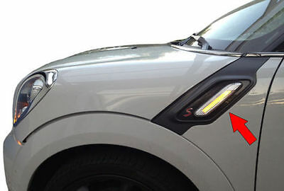 Clear Led Lightbar Lci Side Repeaters For Mini Cooper Countryman R60