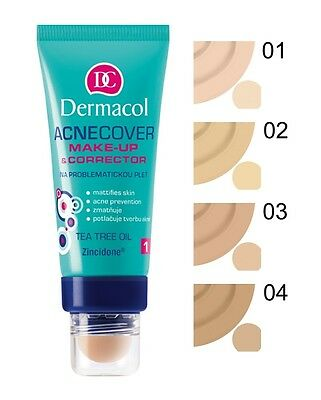 Dermacol Acnecover Make Up & Acne Corrector Foundation 30Ml Makeup