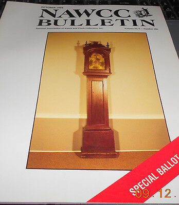 NAWCC Bulletin October 1993 Watch and Clock Collector