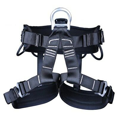 Climbing Harness for Mountaineering Adjustable Rock Half Body belts Black Friday