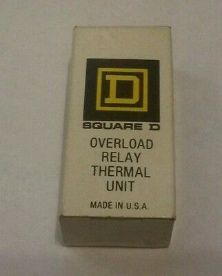 New in Box Square D Overload Relay A9.85