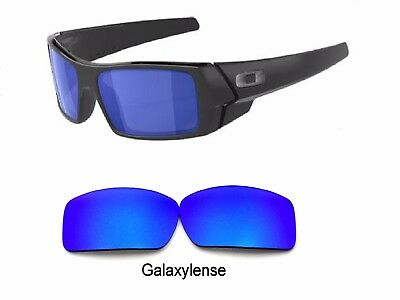 Galaxy Replacement Lenses For Oakley Gascan Blue Color Polarized 100%UVA