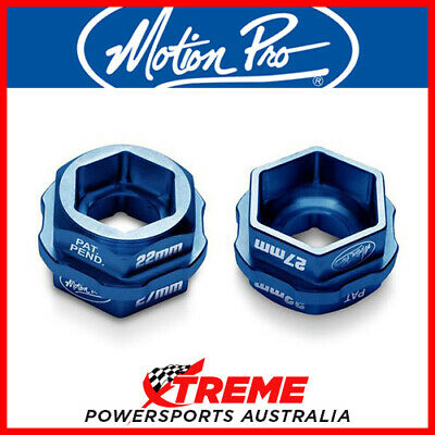MOTION PRO T-6 COMBO LEVER HEX ADAPTER 32mm to 27mm/22mm AXLE NUTS MX 08-0587