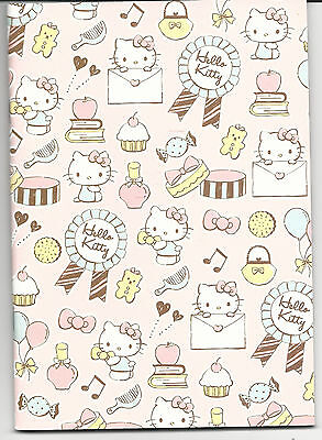 Sanrio Hello Kitty Notebook Bows and Sweets