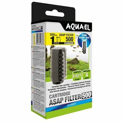 Aquael ASAP 500 Filter Replacement Cartridge Standard Aquarium Media