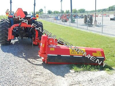 "Flail Side Trim Ditch Bank, Verge Mower: Maschio Girafetta 160SI 63""Cut, 35-55HP"