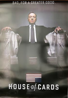House Of Cards-For Greater Good-Licensed POSTER-90cm x 60cm-Brand New