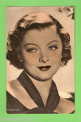 #G.  Early Fan Card Of Myrna Loy,  Signature On The Back
