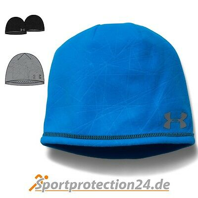 Under Armour Herren Wintermütze ColdGear® Infrared Emboss Run Beanie -Sportmütze