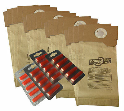 20 Dust hoover Bags & Air Fresh for Nilco Commercial Vacuum Cleaner 1105 1107