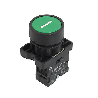 ZB2-EA3311 NO Normally Open Green Sign Momentary Push Button Switch 22mm