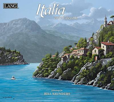 Italia 2017 Lang Calendar By Bill Saunders Packed Well Free Postage New
