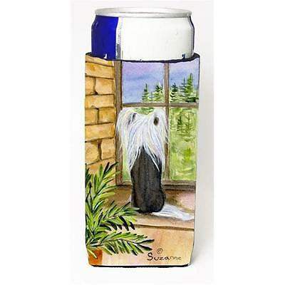 Carolines Treasures Chinese Crested Michelob Ultra s For Slim Cans 12 oz.