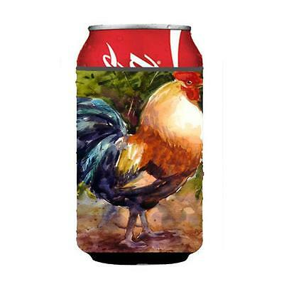 Carolines Treasures MM6021CC Bird Rooster Can Or bottle sleeve Hugger 12 oz. • AUD 45.90