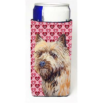 Cairn Terrier Hearts Love And Valentines Day Portrait Michelob Ultra s For Sl...