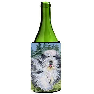 Carolines Treasures SS8037LITERK Bearded Collie Wine Bottle Hugger 24 oz.