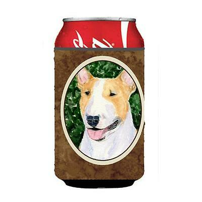 Carolines Treasures SS8873CC Bull Terrier Can Or Bottle Hugger 12 oz.
