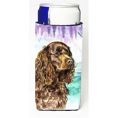 Carolines Treasures American Water Spaniel Michelob Ultra s For Slim Cans 12 oz.