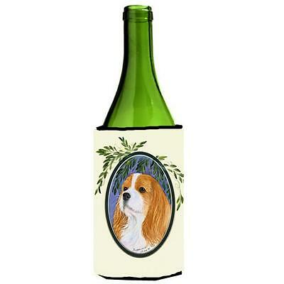 Carolines Treasures SS8024LITERK Cavalier Spaniel Wine Bottle Hugger 24 oz.