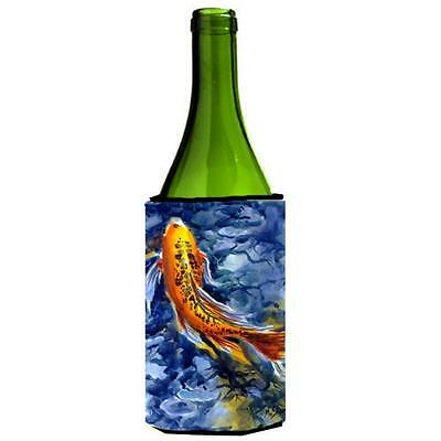 Carolines Treasures MM6026LITERK Fish Koi Wine bottle sleeve Hugger 24 oz.