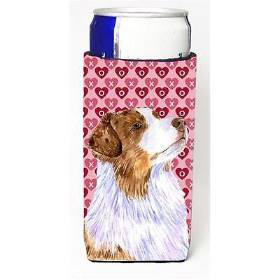 Australian Shepherd Hearts Love Valentines Day Michelob Ultra s For Slim Cans...