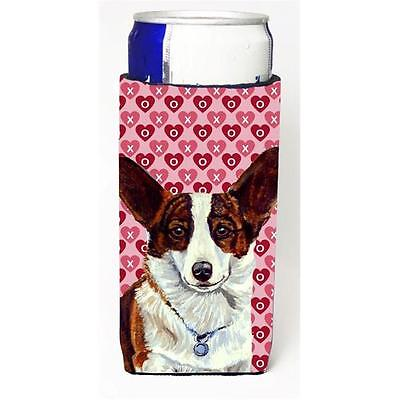 Corgi Hearts Love And Valentines Day Portrait Michelob Ultra s For Slim Cans ... • AUD 47.47