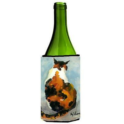 Carolines Treasures MM6041LITERK Cat Wine bottle sleeve Hugger