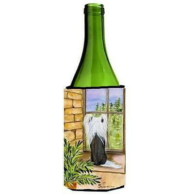 Carolines Treasures SS8121LITERK Chinese Crested Wine Bottle Hugger 24 oz.