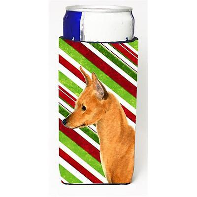 Min Pin Candy Cane Holiday Christmas Michelob Ultra s For Slim Cans 12 oz.