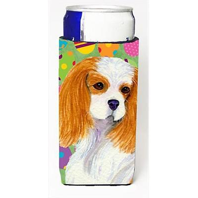 Cavalier Spaniel Easter Eggtravaganza Michelob Ultra bottle sleeves For Slim ...