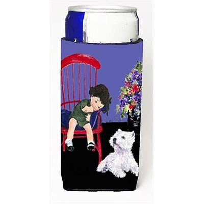 Carolines Treasures SS8631MUK Westie Michelob Ultra bottle sleeves For Slim Cans