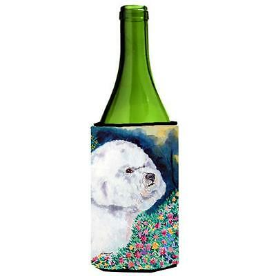 Carolines Treasures 7225LITERK Bichon Frise Wine bottle sleeve Hugger • AUD 48.26