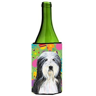 Bearded Collie Easter Eggtravaganza Wine bottle sleeve Hugger