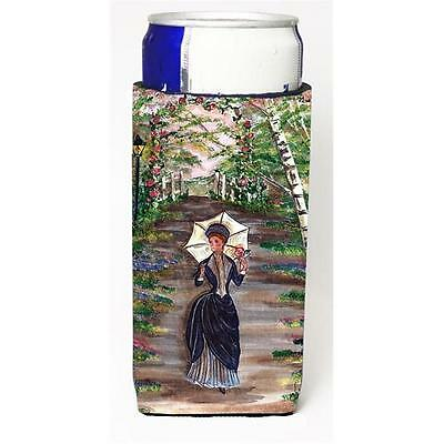 Carolines Treasures Fancy Lady On A Stroll Michelob Ultra s For Slim Cans 12 oz.