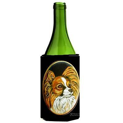 Carolines Treasures 7248LITERK Papillon Wine bottle sleeve Hugger