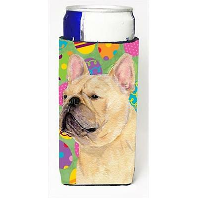 French Bulldog Easter Eggtravaganza Michelob Ultra bottle sleeves For Slim Cans