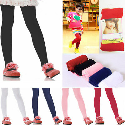 Girls Kids Footed Tights Dance Stockings Pantyhose Ballet Colors Small Medium !