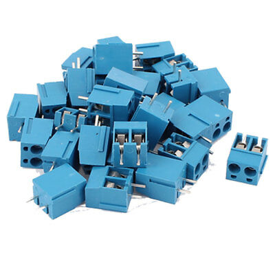 30Pcs 2 Way 2P PCB Mount Screw Terminal Block Connector 5.08mm Pitch
