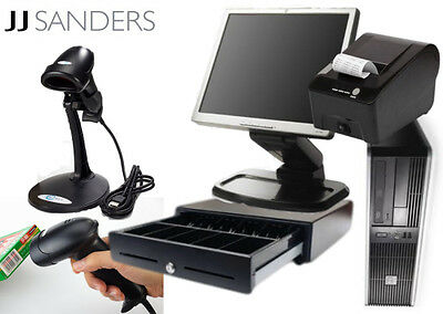 Turn-Key Retail Point of Sale System (POS System - PC/MONITOR included)