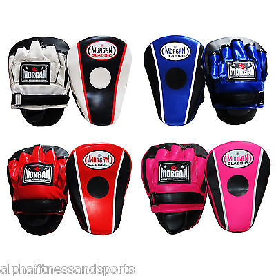 Morgan Classic Focus Pads Boxing Mitts Strike Shield Target MMA ANBF APPROVED