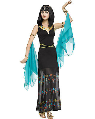 Morris Costumes Women's Egyptian Queen Black Gown Dress Costume S/M. FW124144SD