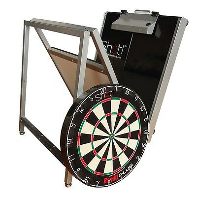 Shot Nomad Portable Dartboard Stand, Light, Foldable, Easy Assembly