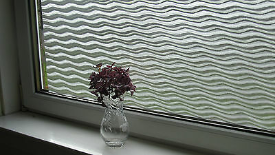 Frosted Static Window Film Etched Glass Effect Decorative Vinyl Privacy Paper