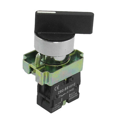 AC 600V 10A On/Off Self Lock Long Handle 2 Postion Selector Switch ZB2-BJ21