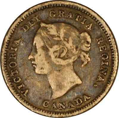 Canada 1881 H 5 Cents *Free US Shipping*